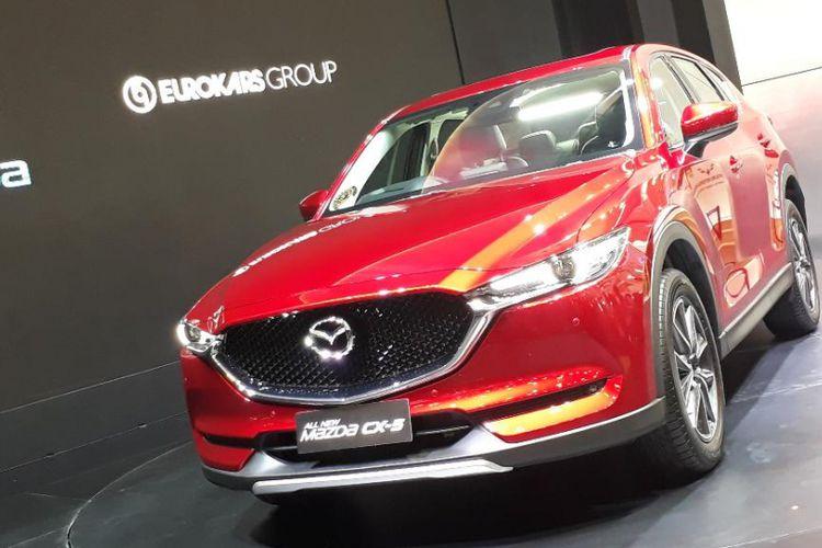 Harga Mazda CX-5 Tembus Setengah Miliar Rupiah