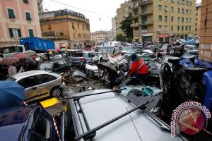 Jembatan Italia di Genoa Runtuh, Puluhan Dikhawatirkan Tewas