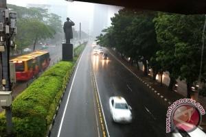 Jakarta Diprakirakan Hujan pada Minggu Sore