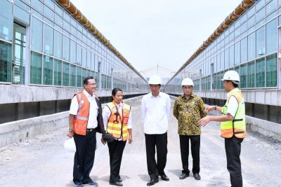 Jokowi Akan Resmikan Kereta Bandara Soekarno Hatta 2 Januari 2018