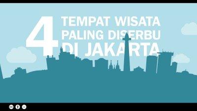 4 Tempat Wisata Paling Diserbu di Jakarta