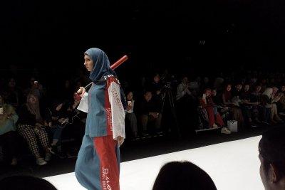 JFW 2018, Label Fesyen Muslim Flamoush Terinspirasi Gaya Harajuku