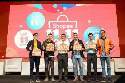 Shopee 11.11 Gelar Pesta Diskon untuk 220 Juta Produk