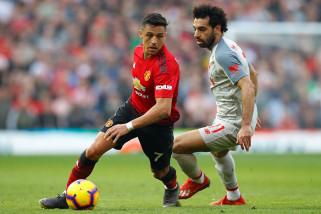 Laga Manchester United vs Liverpool berakhir tanpa gol