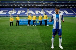 Wu Lei jadi pemain China pertama cetak gol di Liga Spanyol