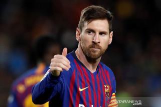 Messi kian tak terkejar di puncak daftar top skor