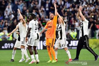 Juventus pastikan gelar juara SerieA delapan musim beruntun