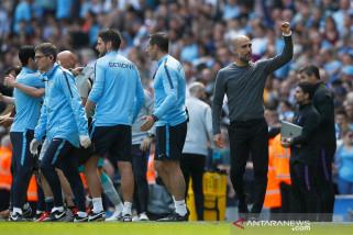 Hasil dan klasemen Liga Inggris, Manchester City ke puncak lagi