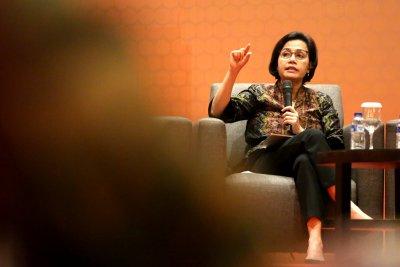 Sri Mulyani Sindir Bank Tarik Komisi Lebih Tinggi Dibanding Fintech