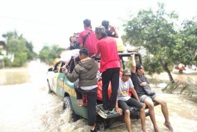 Banjir Melanda 15 Kabupaten di Jawa Timur, 12 Ribu Keluarga Terdampak