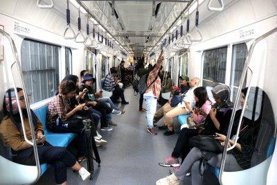 Siapkan Berbagai Program, MRT Kejar Target 100 Ribu Penumpang per Hari