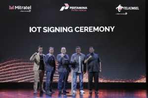 Telkomsel Pakai IoT untuk Manajemen Pengisian BBM Pertamina
