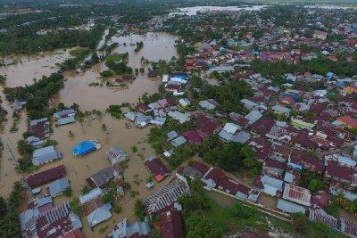 Banjir Bengkulu: 10 Orang Meninggal dan 12 Ribu Mengungsi