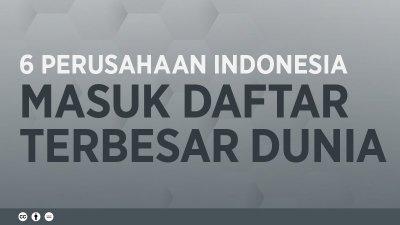 6 Perusahaan Publik Indonesia Masuk Jajaran Terbesar Dunia