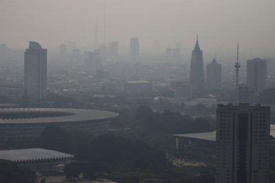 Polusi Udara Jakarta Peringkat 8 Dunia, di Bawah Beijing