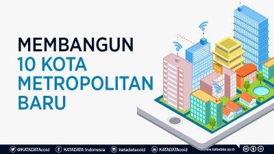 Tak Hanya Ibu Kota, Pemerintah Siapkan 10 Metropolitan Baru