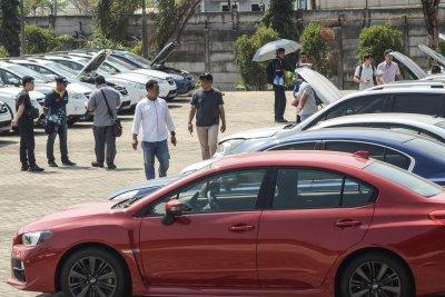 Subaru Sitaan Bea Cukai Dilelang Mulai Rp 90 Jutaan