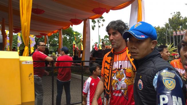 Bos Persija Jakarta Isyaratkan Teco Bertahan