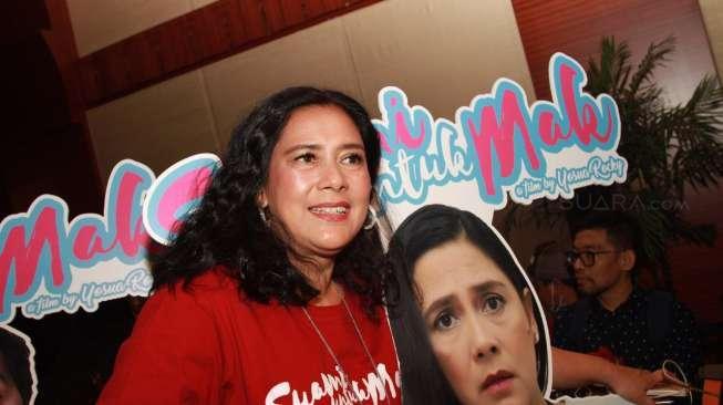 Lydia Kandouw Girang Dijodohkan dengan Rano Karno