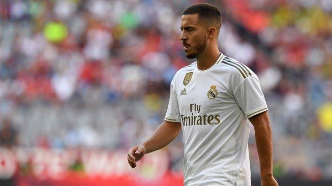 Ikut Sesi Latihan Real Madrid, Hazard Siap Lakukan Debut di La Liga Spanyol
