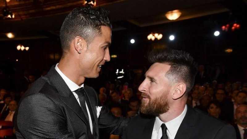 Gol Ronaldo dan Messi Masuk Nominasi Terbaik UEFA