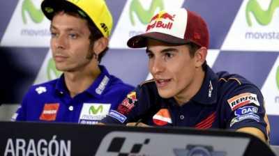 Rebut Start Terdepan, Marquez Asapi Rossi