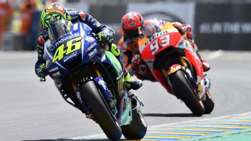 Rossi Diklaim Marah Yamaha Tawar Marquez Rp178 Miliar