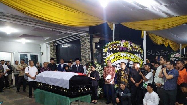 Pemakaman Sutopo Dilakukan Secara Militer