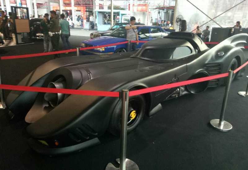 Ada Penampakan Mobil Batman di IIMS 2017