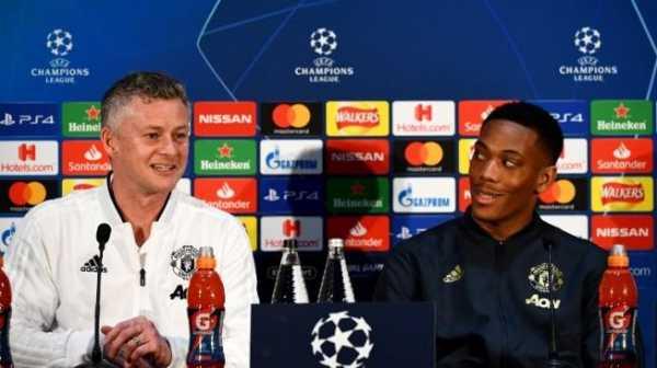 PSG Tanpa Neymar dan Cavani, Martial: Manchester United Tetap Harus Waspada