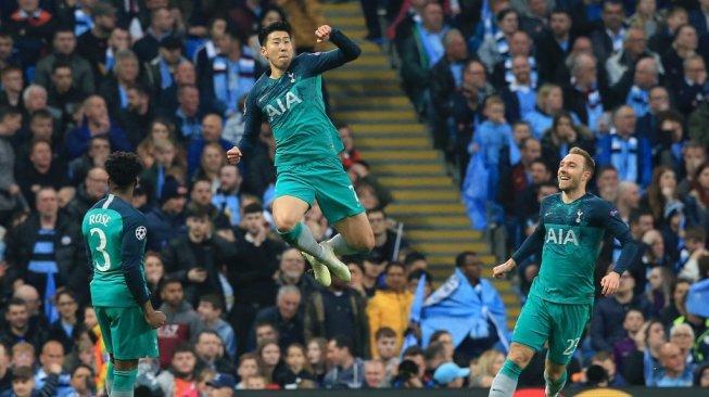 Drama! Tottenham Hotspur Singkirkan Manchester City dari Liga Champions