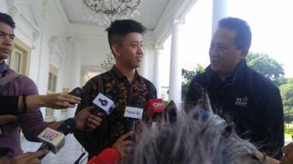 Rich Brian, Rapper Dunia asal Indonesia Bertemu Presiden Jokowi di Istana Bogor