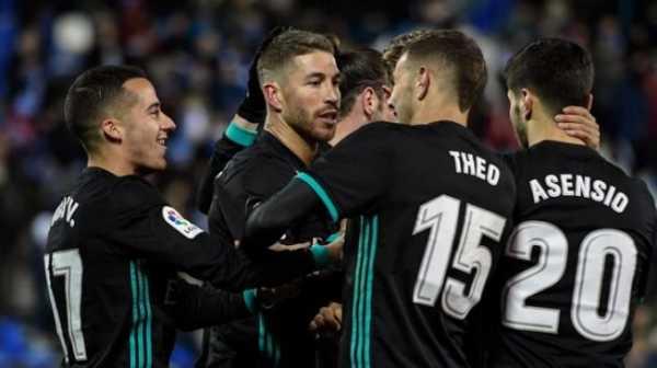 Taklukkan Leganes, Real Madrid Naik ke Peringkat Ketiga