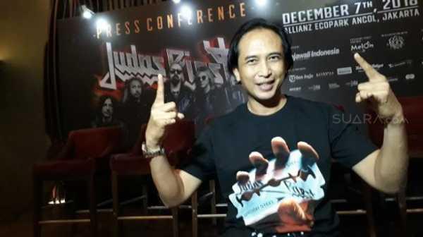 Tatap Wajah dengan Personel Judas Priest, Piyu Padi Kegirangan