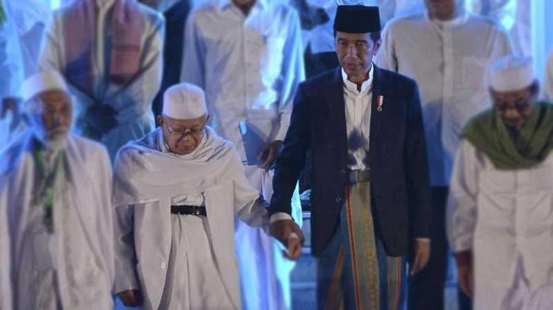 Selawat dan Mobil Hias Jadi Pengiring Jokowi-Maruf ke KPU