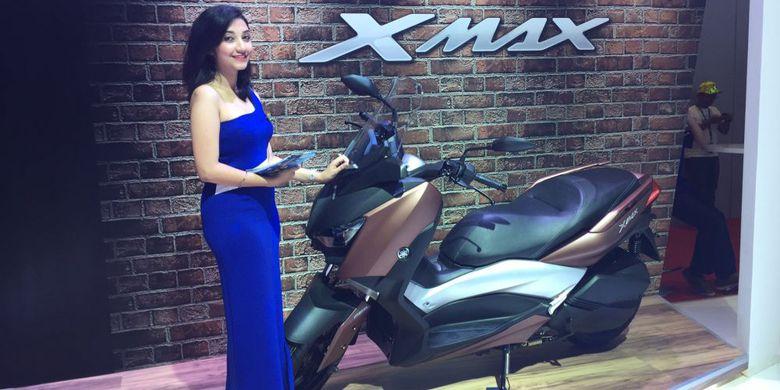 Bisa Pesan Yamaha XMAX di IIMS 2017
