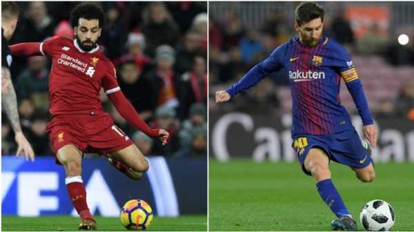 Kaki Kiri Mohamed Salah Lebih Baik dari Messi? Ini Kata Jurgen Klopp