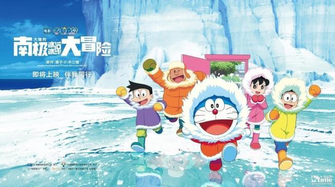 Doraemon Ajak Kamu Berpetualang ke Antartika