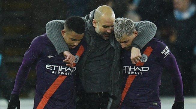 Man City Punya Peluang Raih 4 Gelar di Musim Ini, Ini Komentar Guardiola