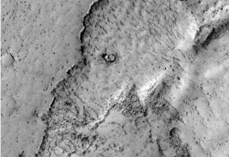 Ada Penampakan Gajah di Planet Mars