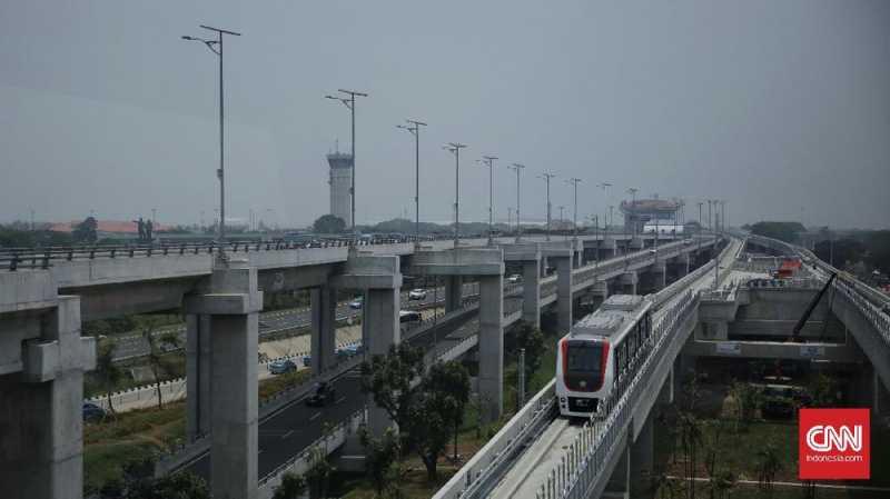 Skytrain Bandara Soetta Sempat Mogok karena Gangguan Listrik