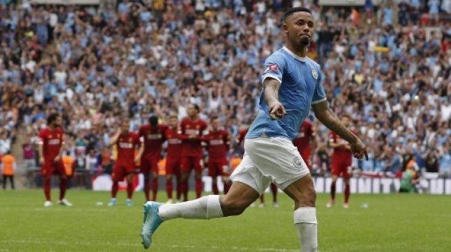 Hanya Jadi Pemain Pelapis di Manchester City, Begini Curhatan Gabriel Jesus