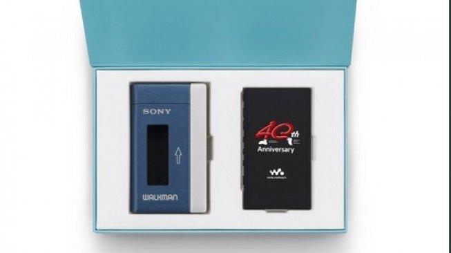 Rayakan Ulang Tahun ke-40, Sony Walkman Edisi Khusus Diluncurkan