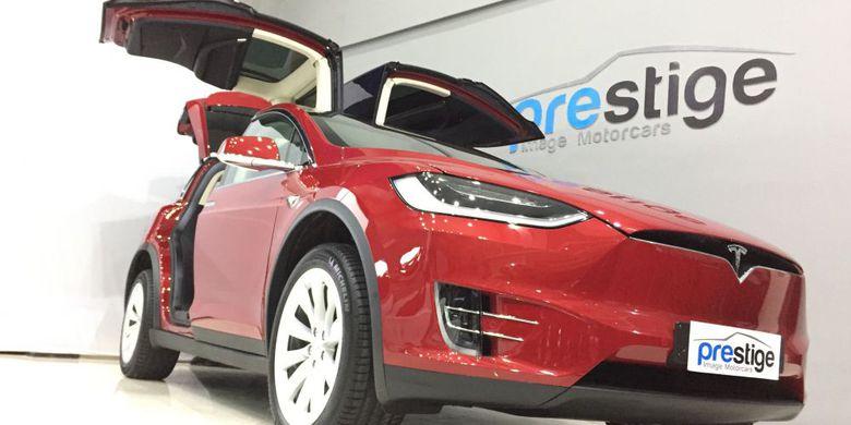 Tesla Model X Dijual Rp 2,65 Miliar di Indonesia