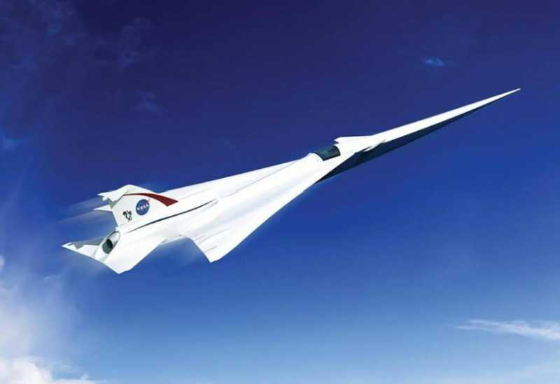 Pesawat Supersonik NASA Sanggup Terbang 1.074 Mil Per Jam