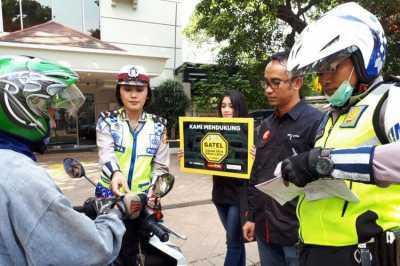Upaya Menyadarkan Pemotor untuk Tidak Melintasi Trotoar