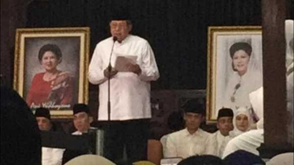 SBY Susun Memoar Perjalanan Cinta Bersama Ani Yudhoyono