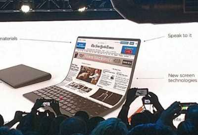 Wow! Lenovo Pamer Konsep PC yang dapat Dilipat