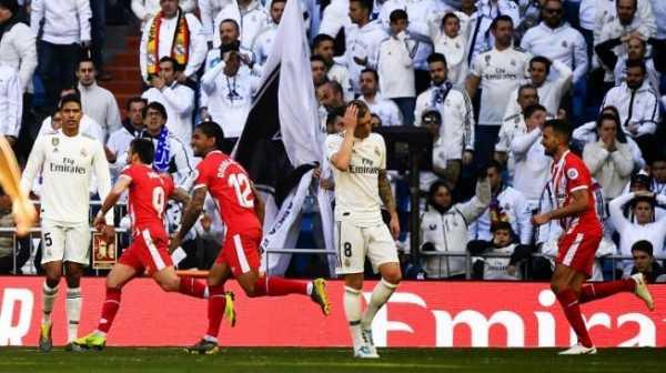 Real Madrid Dipermalukan Girona di Santiago Bernabeu
