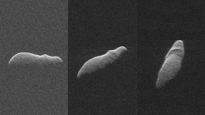 Unik! Tampilan Asteroid Ini Mirip Kuda Nil